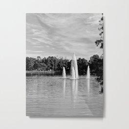 Morning Water Metal Print