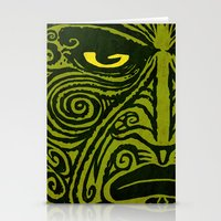 maori Stationery Cards featuring Maori style 01 by Alexis Bacci Leveille