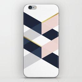 Modern Geometry XVII iPhone Skin