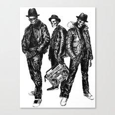 the Legend of Hip Hop Canvas Print