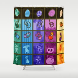 Changelings Shower Curtain