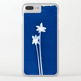 Daffodils Clear iPhone Case