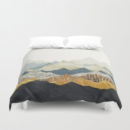 Distant Peaks Duvet Cover