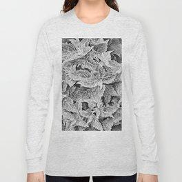 coleus black and white Long Sleeve T-shirt
