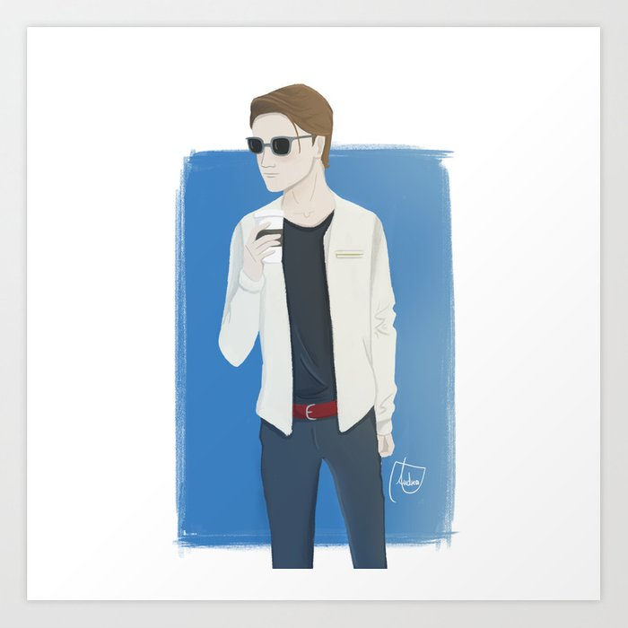 Richard  Art Print