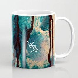 Blue spheres and tears I Coffee Mug