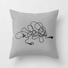 Everyone's Elf Throw Pillow