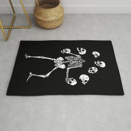 Circus of Skeleton Rug