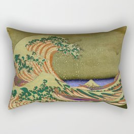 Version Of The Great Wave Off Kanagawa Rectangular Pillow