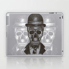 Worked To Death (Grey version) Laptop & iPad Skin