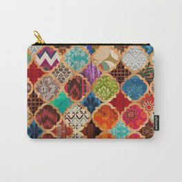 V34 Epic Traditional Colored Artwork Carry-All Pouch