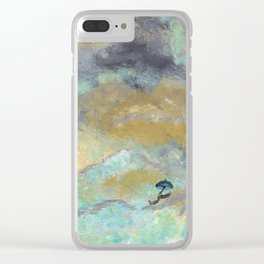 Silver Linings Clear iPhone Case