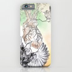 Green Bough, Singing Bird iPhone 6s Slim Case