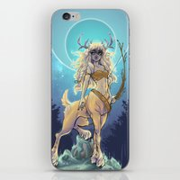 daunt iPhone & iPod Skins featuring Golden Hind by Daunt
