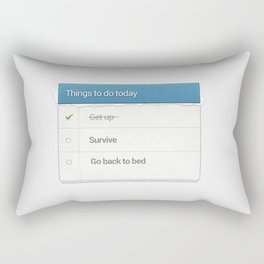 Funny Rectangular Pillow