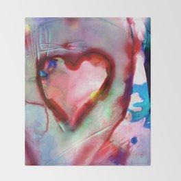 Heart Dreams 4H by Kathy Morton Stanion Throw Blanket