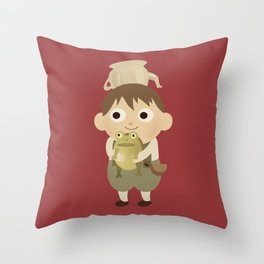 Into the Unknown Throw Pillow