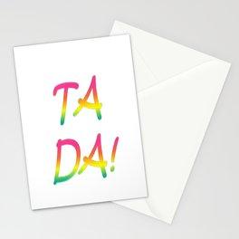 Ta Da! Stationery Cards