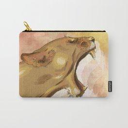 Tiger's howling Carry-All Pouch