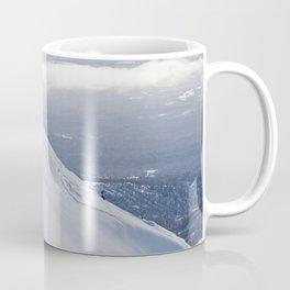 Skiers at Hatcher Pass (2) Coffee Mug