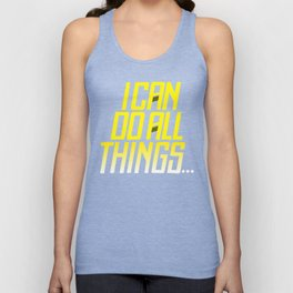 I CAN DO ALL THING  Steph Curry Unisex Tank Top