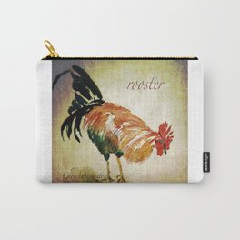 Rooster Watercolor Art by CheyAnne Sexton Carry-All Pouch