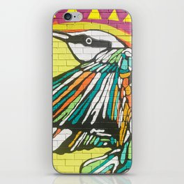 Graffiti Bird Two iPhone Skin