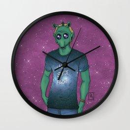 Hipster Greedo Wall Clock