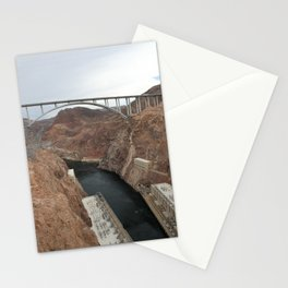 Lake Mead Spillway And Memorial Bridge Stationery Cards