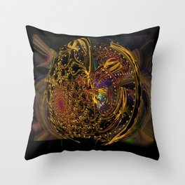 Doin' the Cosmic Boogie Throw Pillow