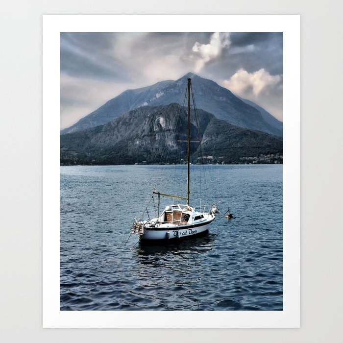 Rock Me On The Water Art Print