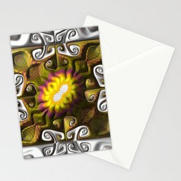 Gnarly Sunflower Stationery Cards