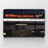 movies iPad Cases featuring Movies over here by Vorona Photography