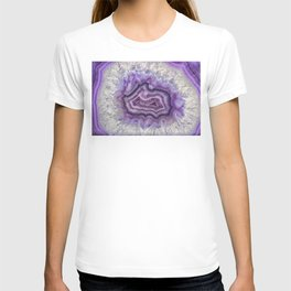 Colorful agate T-shirt