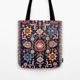 Shirvan Caucasian Afshan Antique Rug Print Tote Bag