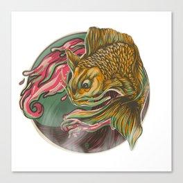 Japanese Fish Canvas Print