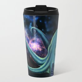 octopus astronaut  Travel Mug
