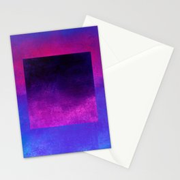 Square Composition VIII Stationery Cards