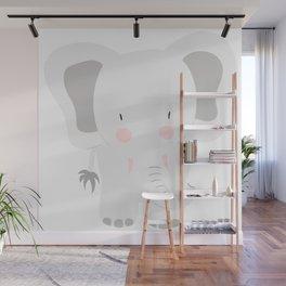 Elephant - jumbo GREY Wall Mural