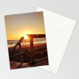 "Redondo Beach ""Life Guard Tower 1"" Stationery Cards"