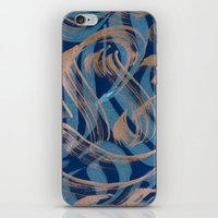 the strokes iPhone & iPod Skins featuring Strokes by Roberlan Borges
