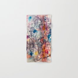 chaotic structure Hand & Bath Towel