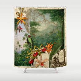 America do Sul Shower Curtain