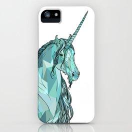 Unicorn prism iPhone Case