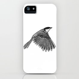 A Great tit named Titus iPhone Case