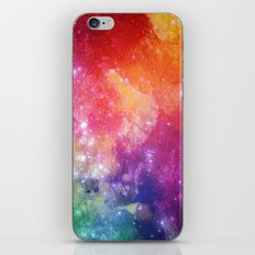 Watercolor space #2 iPhone & iPod Skin