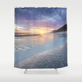 Curving into an Eleven Mile Sunset Shower Curtain