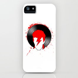 Ziggy - Bowie (Spiders from Mars) Tribute iPhone Case