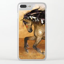 HORSE - Cherokee Clear iPhone Case