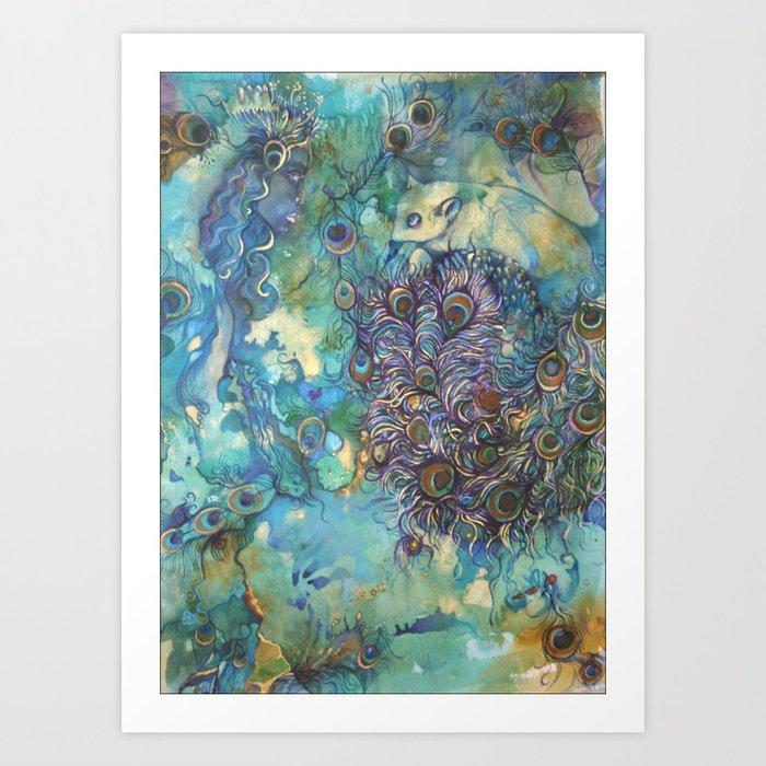 Kwan Yin Kunstdrucke